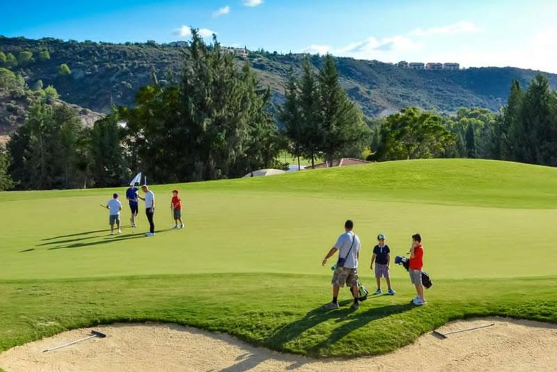Playing Golf Cyprus