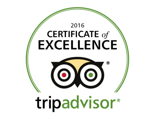 SECRET VALLEY EARNS 2016 TRIPADVISOR CERTIFICATE OF EXCELLENCE