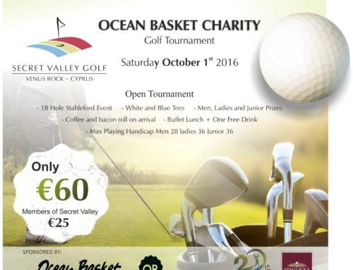 Annual Ocean Basket Charity  Tournament