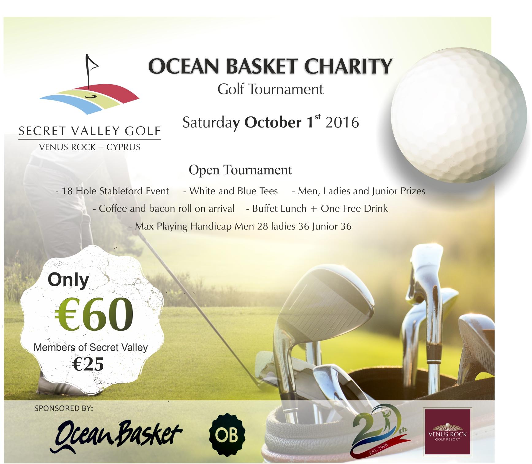 #Secretvalleygolfclub #Golf #Cyprus #OceanBasketCharityGolfTournament