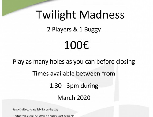 March Twilight Madness 2020